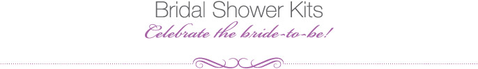 Bridal Shower Kits