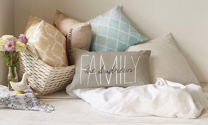 Create Custom Cushions